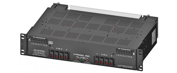 TPA GMT Fuse Panel, 4/4 TPA, 10/10 GMT, Stud Input, Barrier Strip Output, Power and Fuse Fail Alarm, -/+5-12V DC