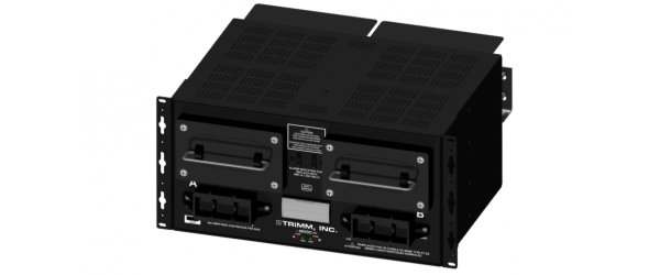 Colocation Interconnect Power Panel, 2 TPL Fuse Holders, Stud Input and Output, -48V DC, 4 23µF Capacitors per Bus, 5U High